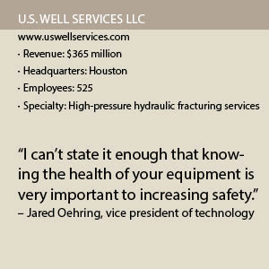 US Well Services Fact Box
