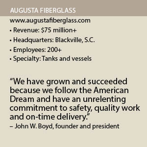 Augusta Fiberglass - Energy and Mining Magazine